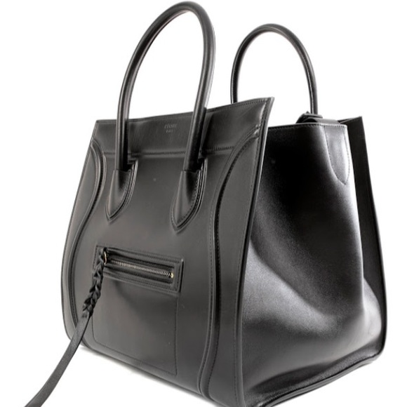 Celine - Celiné Large Black Phantom Tote from Stuart's closet on ...