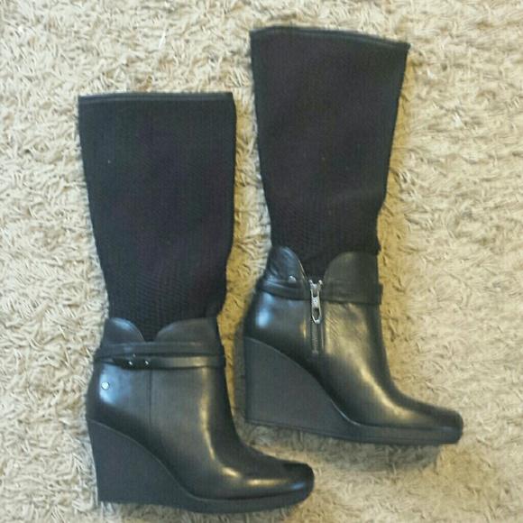 ugg boots with wedge heel