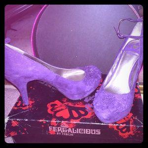 Never worn purple heels! Hot sale🔥