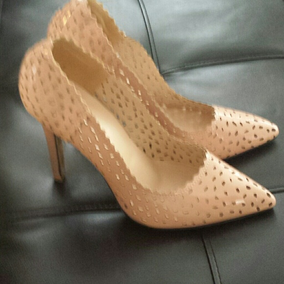 77% off Shoes - Nude pumps 4 1/2 inch heels from Nicolette's ...