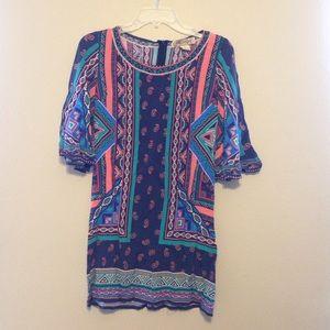 Boho Chic Shift Dress