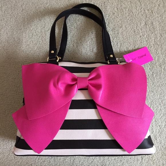 93% off Betsey Johnson Handbags - NWT!  Betsey Johnson Bow Nanza ...
