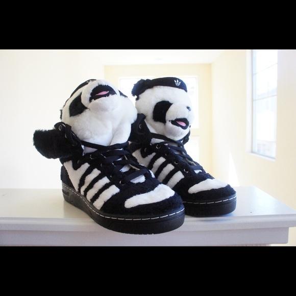 RESERVED Adidas Jeremy Scott Panda Bear