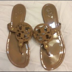 Tory Burch Patent Leather Millers!