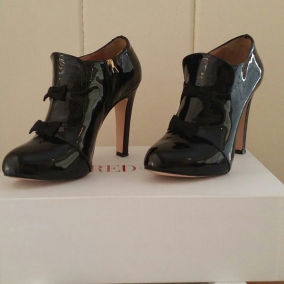 97303566c43 RED Valentino Shoes | Patent Leather Ankle Boots | Poshmark