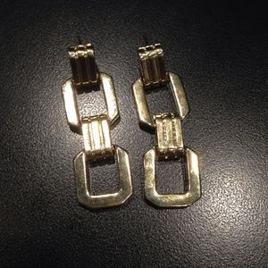 Kate Spade Gold Chain Link Earrings