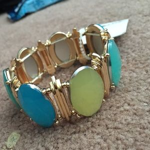 Large jewel bracelet
