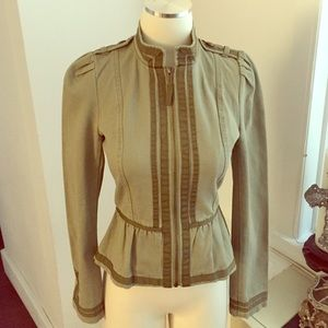 Divided by H&M Military Peplum Jacket