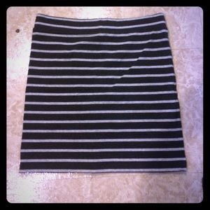 Forever 21 Dresses & Skirts - Grey and dark grey striped skirt