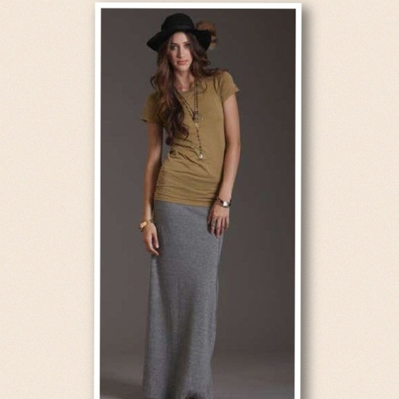 58% off bobeau Dresses & Skirts - Bobeau Grey Maxi Skirt from 💜's ...
