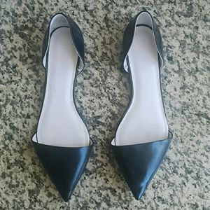 PM EDITOR SHARE ZARA pointy toe vamp flats