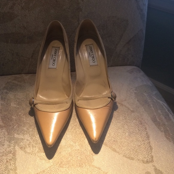 7be844b5b9f Jimmy Choo Shoes - AUTHENTIC 💗💗 Jimmy choo nude pumps