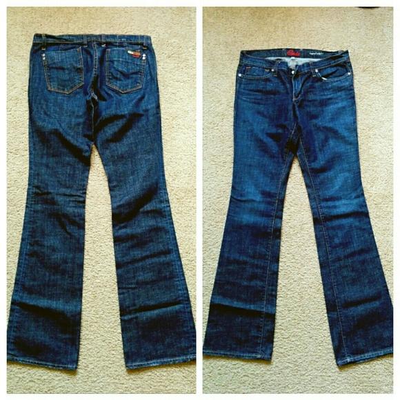Blue cult butt lifter jeans