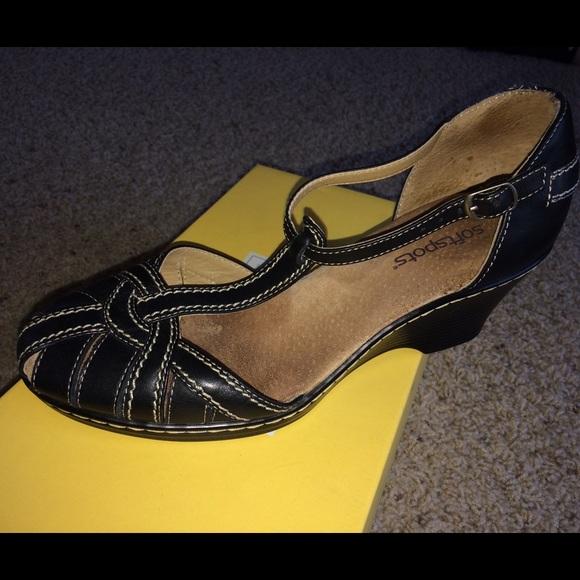 86 soft spots shoes soft spots t black