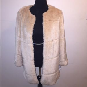 Zara Faux Fur Coat