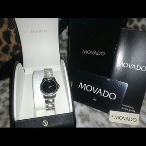 Authentic Movado Luxury Sapphire Women's Watch