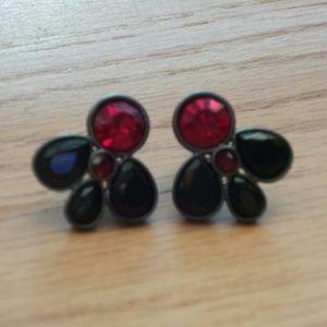 ✂ Jewelmint Ruby Rain earrings