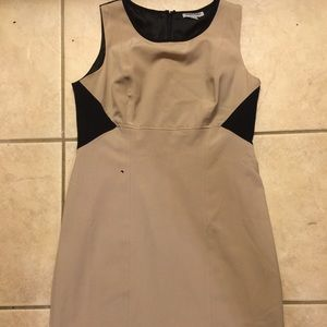 Shelby and palmer  Dresses & Skirts - Shelby and Palmer dress taupe and black  sz 14 🌺