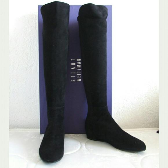 31% off Stuart Weitzman Boots - Suede OTK over the knee boots 5050 ...