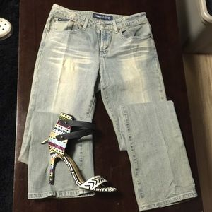 Blue Asphalt Denim - T4 ✨LOWEST✨ Yellow wash denim jeans