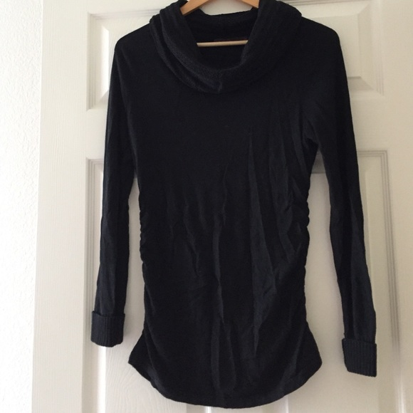 The Limited - Medium Limited black lightweight cowl neck sweater ...