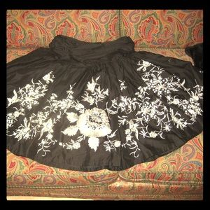 Kenar Dresses & Skirts - Kenar embroidered and beaded skirt: like new!