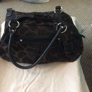 Handbags - Giraffe pattern purse