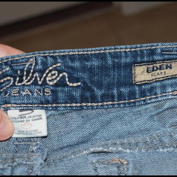 77% off Silver Jeans Denim - Silver jeans Eden flare from Jodi&39s