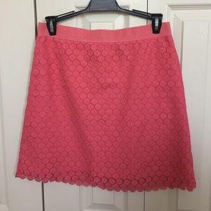 LOFT Dresses & Skirts - LOFT Coral Lace Skirt