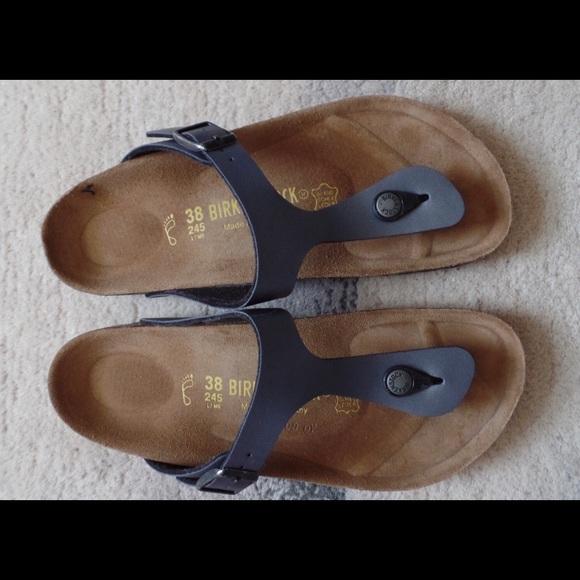 c6b873112fa Birkenstock Shoes - Grey Birkenstock Gizeh Thong Sandal