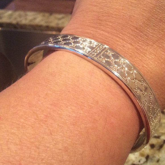 d4345e364 Gucci Jewelry | Bangle Cuff Adjustable Real 925 Silver | Poshmark