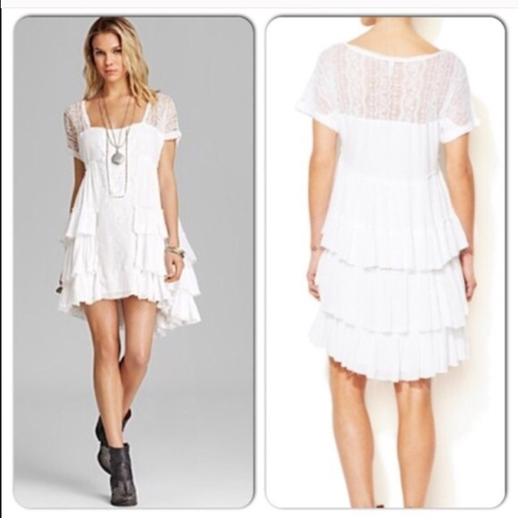 67% off Free People Dresses & Skirts - NWOT Free People White ...