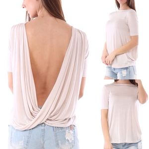 1⃣ NEW! Open Back Top