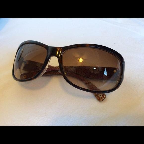 8a8916662f Coach Accessories - Coach Sarah Sunglasses S437 tortoise