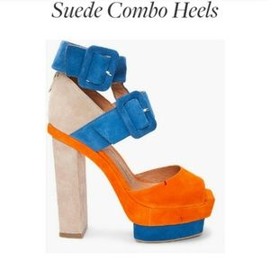 Jeffrey Campbell Shoes - Jeffrey Campbell Suede Heel