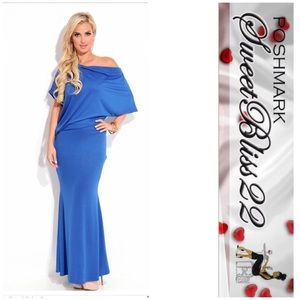 Dresses & Skirts - 💋Maxi Dress Royal Blue💋