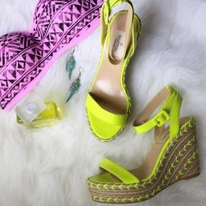 Valentino Shoes - 🎉PartyCover + Editor Pick Valentino Yellow Wedges