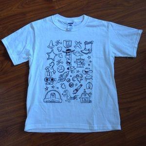 NWOT Toy Story White T Shirt!