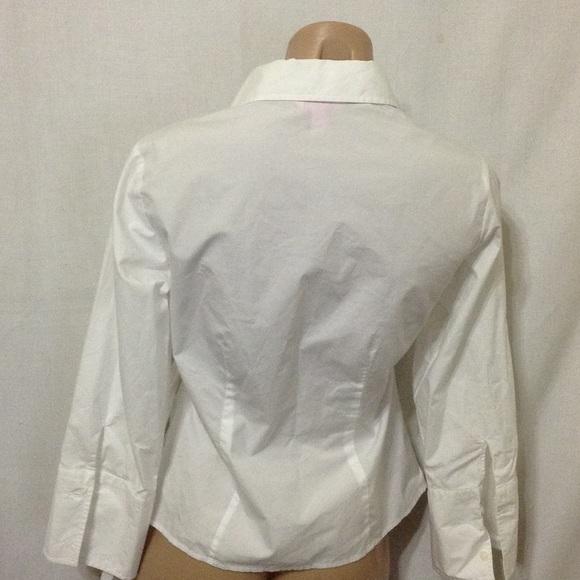 Lilly Pulitzer White Shirt