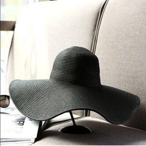Woven Black Hat