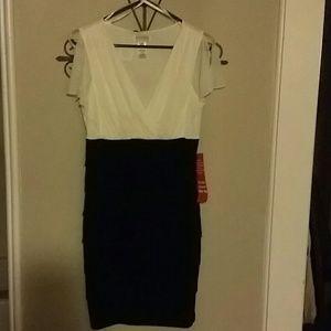Dresses & Skirts - Black & white cocktail dress