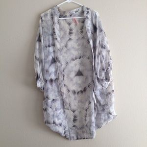 Boho chic print kimono