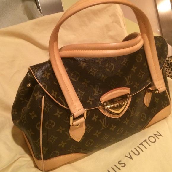 3a68012df855 Louis Vuitton Handbags - Authentic Louis Vuitton Beverly GM Handbag Large