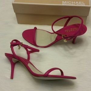 MICHAEL Michael Kors Shoes - PRICE IS FIRM! Michael Kors Strap Heels