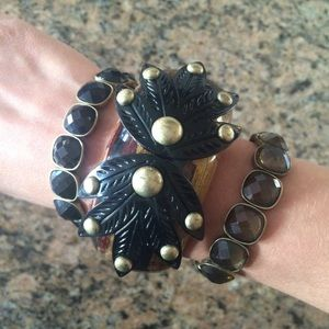 Lulu Frost Jewelry - Large Lulu Frost Bangle w/ 2 FREE extras!