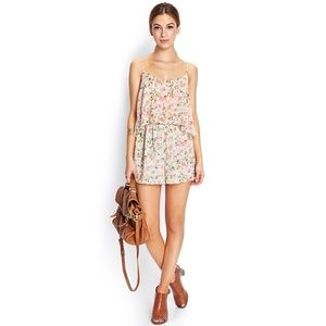 NEW Floral Romper