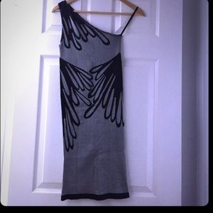Bebe form fitting body con dress p/s xxs/XS/S
