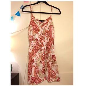 Paisley Forever 21 Dress