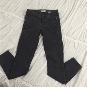 Paige grey cargo style jeans