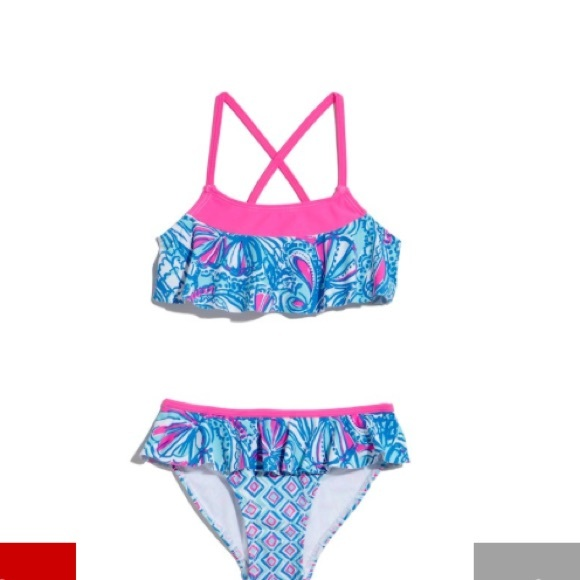 b434a2b579 Lilly Pulitzer for Target - girls bathing suit